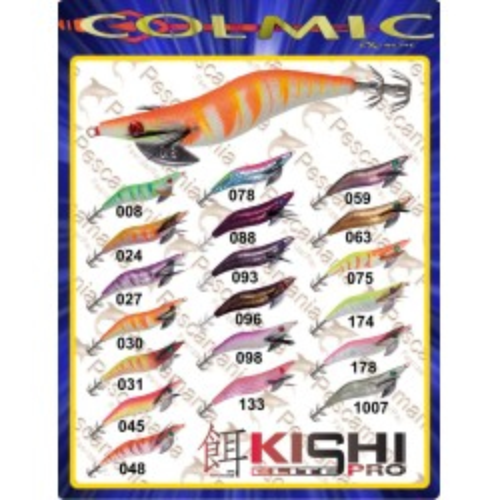 Jibionera KISHI PRO COLOR 88