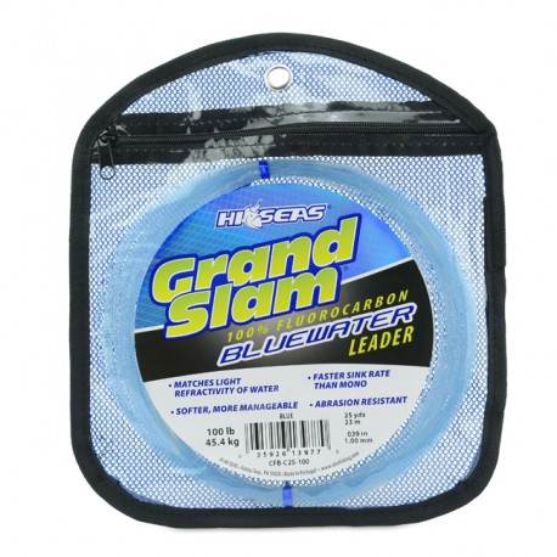 Fluorocarbono HI-SEAS GRAND SLAM BLUEWATER  100 lbs