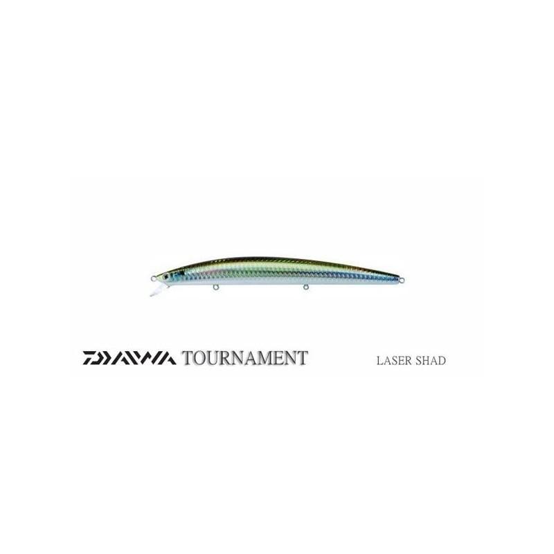 Señuelo DAIWA TOURNAMENT SHINNER SSR-F Laser Shad