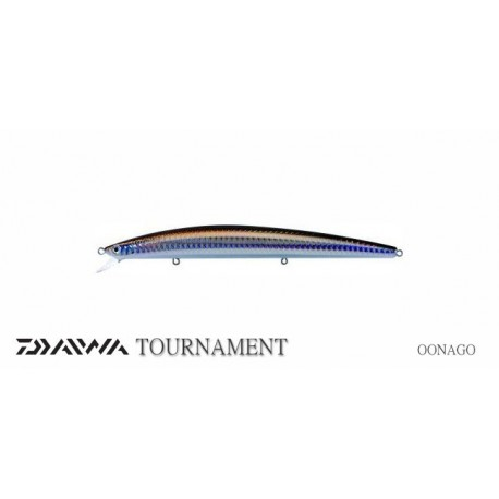 Señuelo DAIWA TOURNAMENT SHINNER SSR-F Laser Shad
