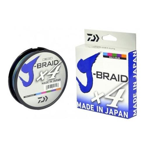Trenzado DAIWA J-BRAID X 4 - 15 mm - Verde
