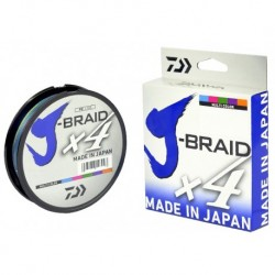 Trenzado DAIWA J-BRAID X 4 - 15 mm - Verde