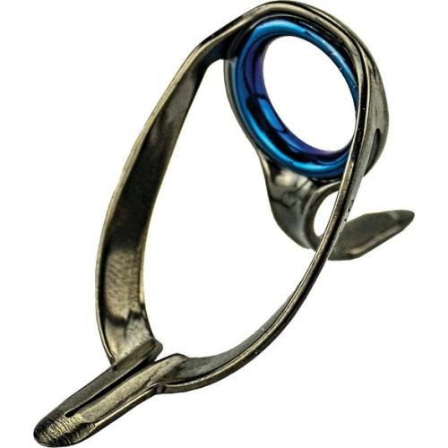 Guía para caña de pesca ALPS HEAVY XN SS316 BLACK ZIRC RING Nº 20