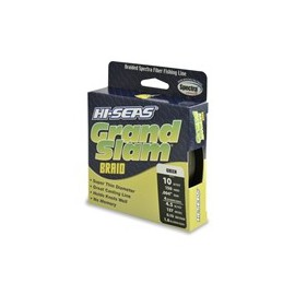 Grand Slam Braid, 65 lb, green