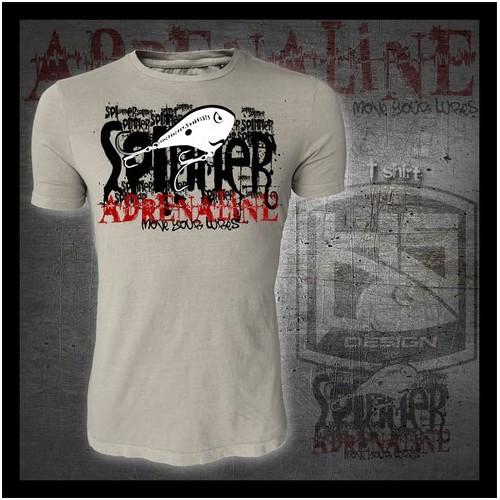 T-shirt HotSpot Desing SPINNER ADRENALINE Size L