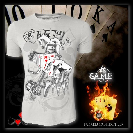 T-shirt HotSpot BIG GAME - DRAW IN THE DECK Size M