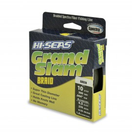 Trenzado HI-SEAS Grand Slam 0.10 mm verde