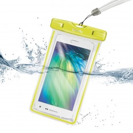 Case waterproof yellow CELLY.