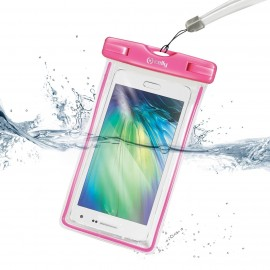 Cover waterproof pink CELLY.