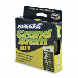 Grand Slam Braid, 15 lb, green