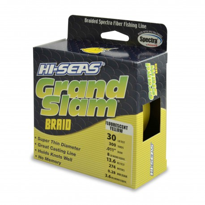 Trenzado HI-SEAS Grand Slam 0.28 mm amarillo