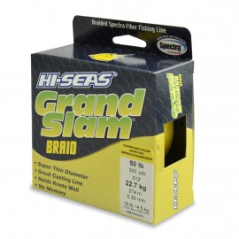 Trenzado HI-SEAS Grand Slam 0.30 mm amarillo