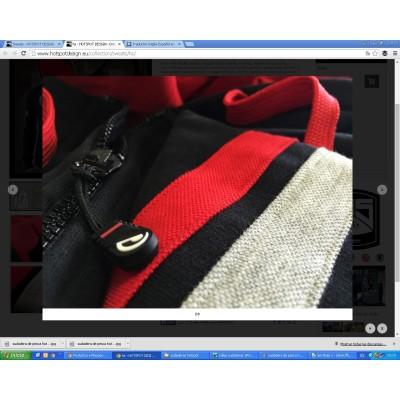 Sweat HotSpot Desing HOTSPOT black/red Size M
