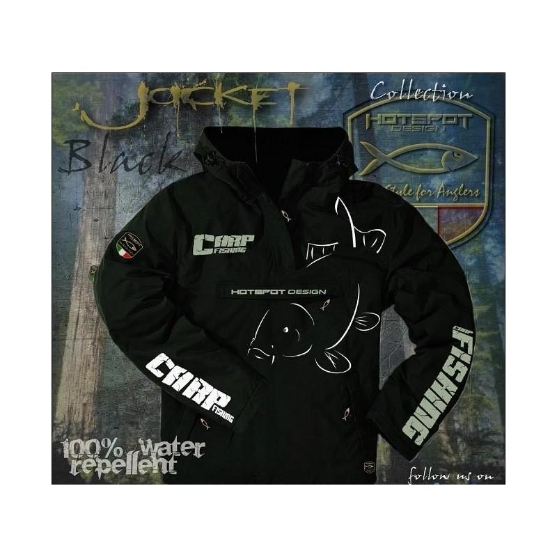 Jacket HotSpot Desing CARPFISHING ECO Black Size M