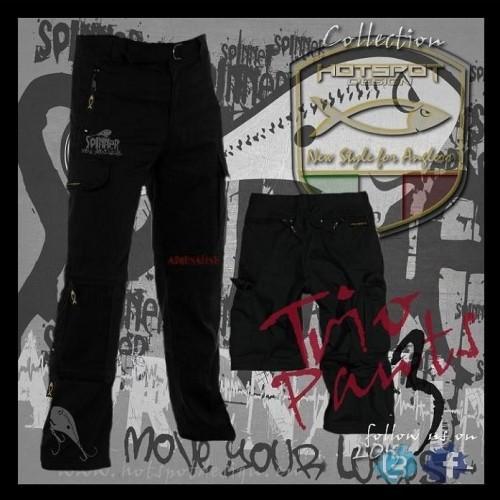 Fishing trousers HotSpot Desing TRIO ADRENALINE Size M