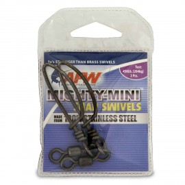 Grillete HI-SEAS MIGHTY-MINI SNAP SWIVELS 2/0