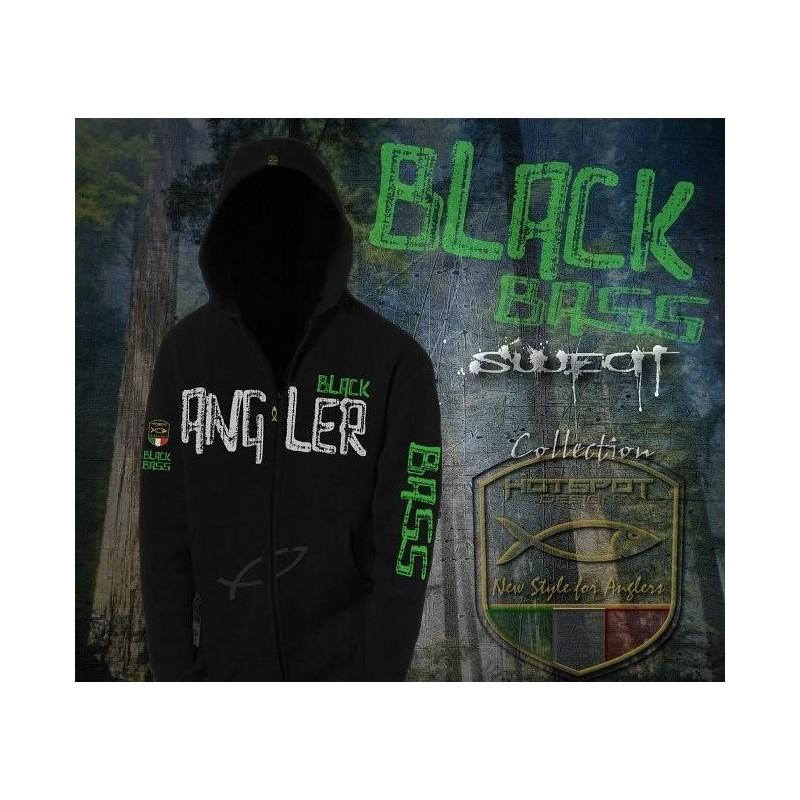 Sweat HotSpot Desing BLACK BASS Size M