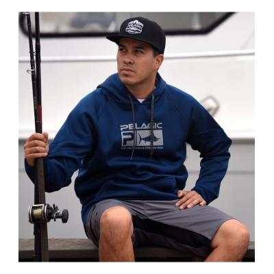 Sudadera de pesca Pelagic Offshore Tek Zip Hoody Talla XL