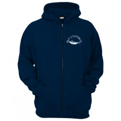 Sudadera de pesca Pelagic Marlin Nation Zip Hoody Talla M