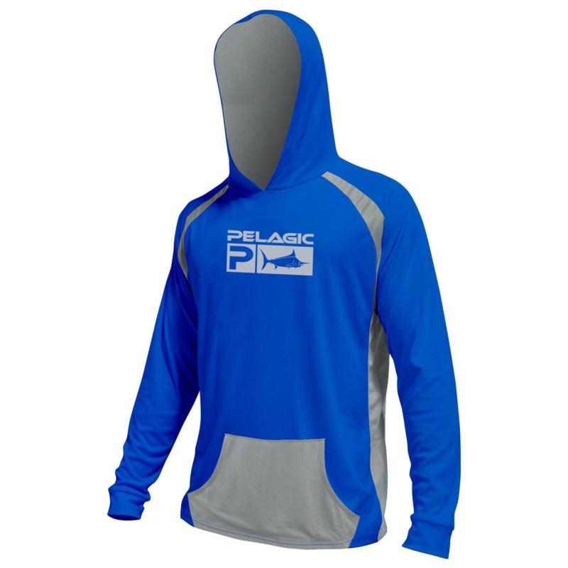Camiseta de pesca PELAGIC VAPORTEK HOODY Talla S