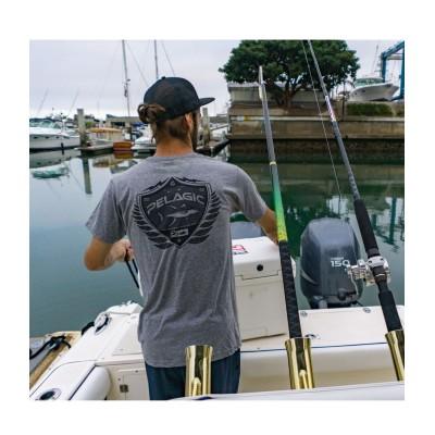 Camiseta de pesca PELAGIC BLACK LABEL MARLIN NATION TEE Talla S