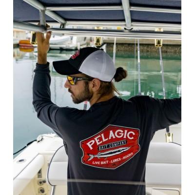 Camiseta de pesca PELAGIC BLACK LABEL BOLTED TEE Talla XL
