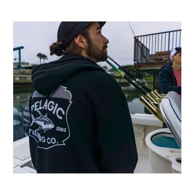Sudadera de pesca Pelagic Pinnacle Zip Hoody Talla XL