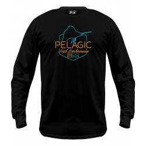 Camiseta de pesca PELAGIC OPEN LATE LS TEE Talla L