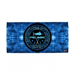 Toalla PELAGIC BLUE HEX CIRCLE LOGO TOWEL