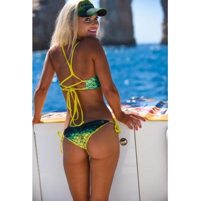 Bikini PELAGIC LAHAINA REVERSIBLE BIKINI TOP - DORADO Talla XS
