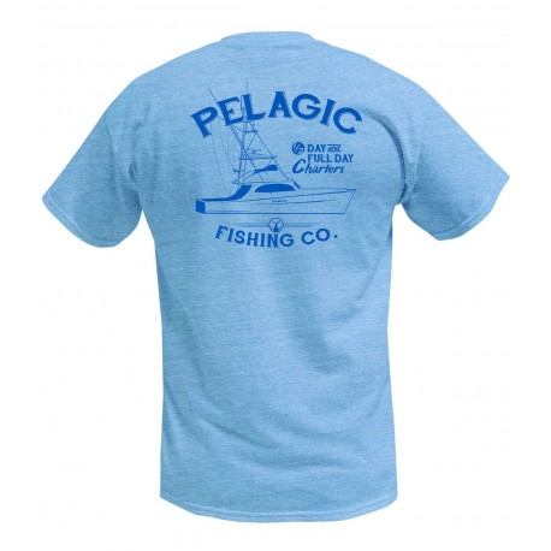 Camiseta de pesca PELAGIC CHARTER BOAT TEE Talla M