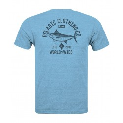 Camiseta de pesca PELAGIC BLACK LABEL MARLIN NATION TEE Talla L