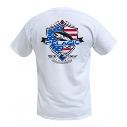 Camiseta de pesca PELAGIC PATRIOT MARLIN TEE Talla XL