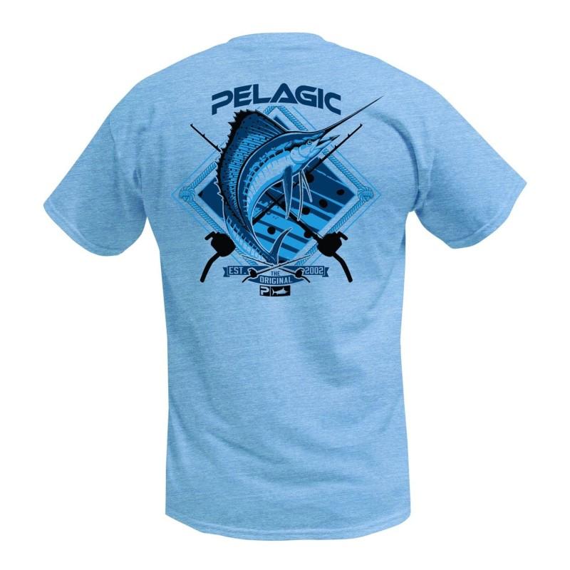 Camiseta de pesca PELAGIC SAILFISH TEE Talla M