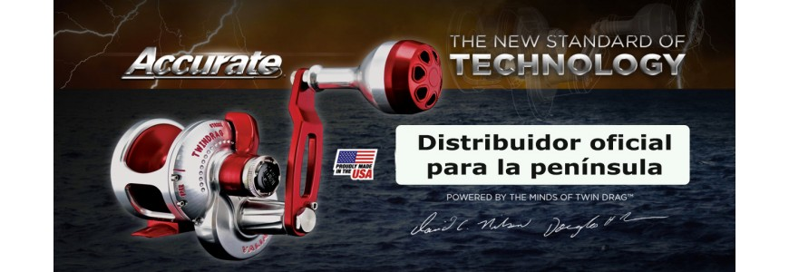 CARRETES ACCURATE FISHING